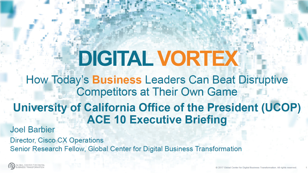 Digital Vortex: How Today's Business Leaders Can Beat Disruptive Competitors at Their Own Game