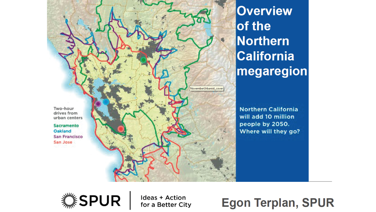 Overview of the Northern California megaregion
