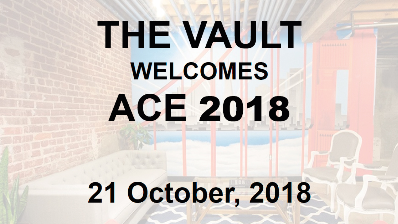 Welcome ACE 2018