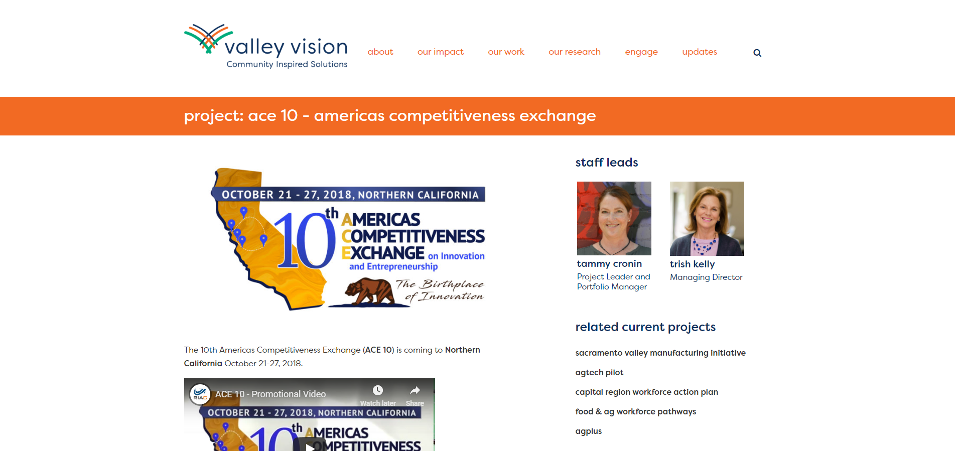 Project: ACE 10 – Americas Competitiveness Exchange