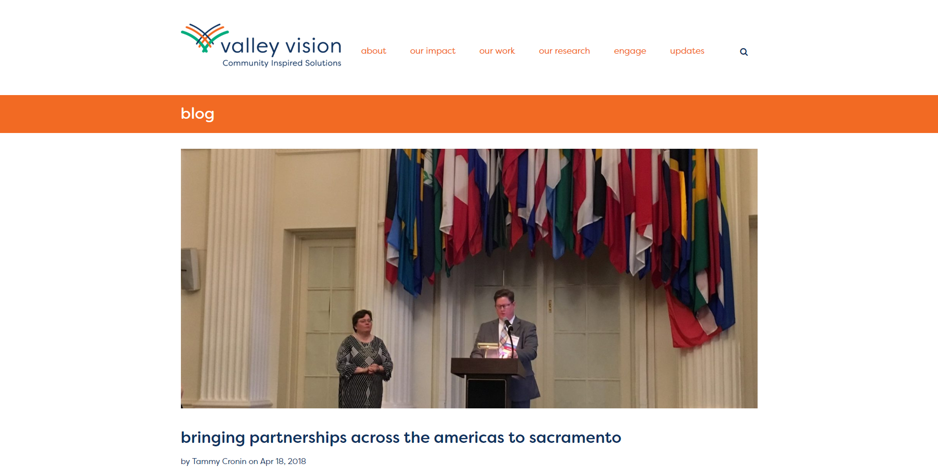 Bringing partnerships across the Americas to Sacramento