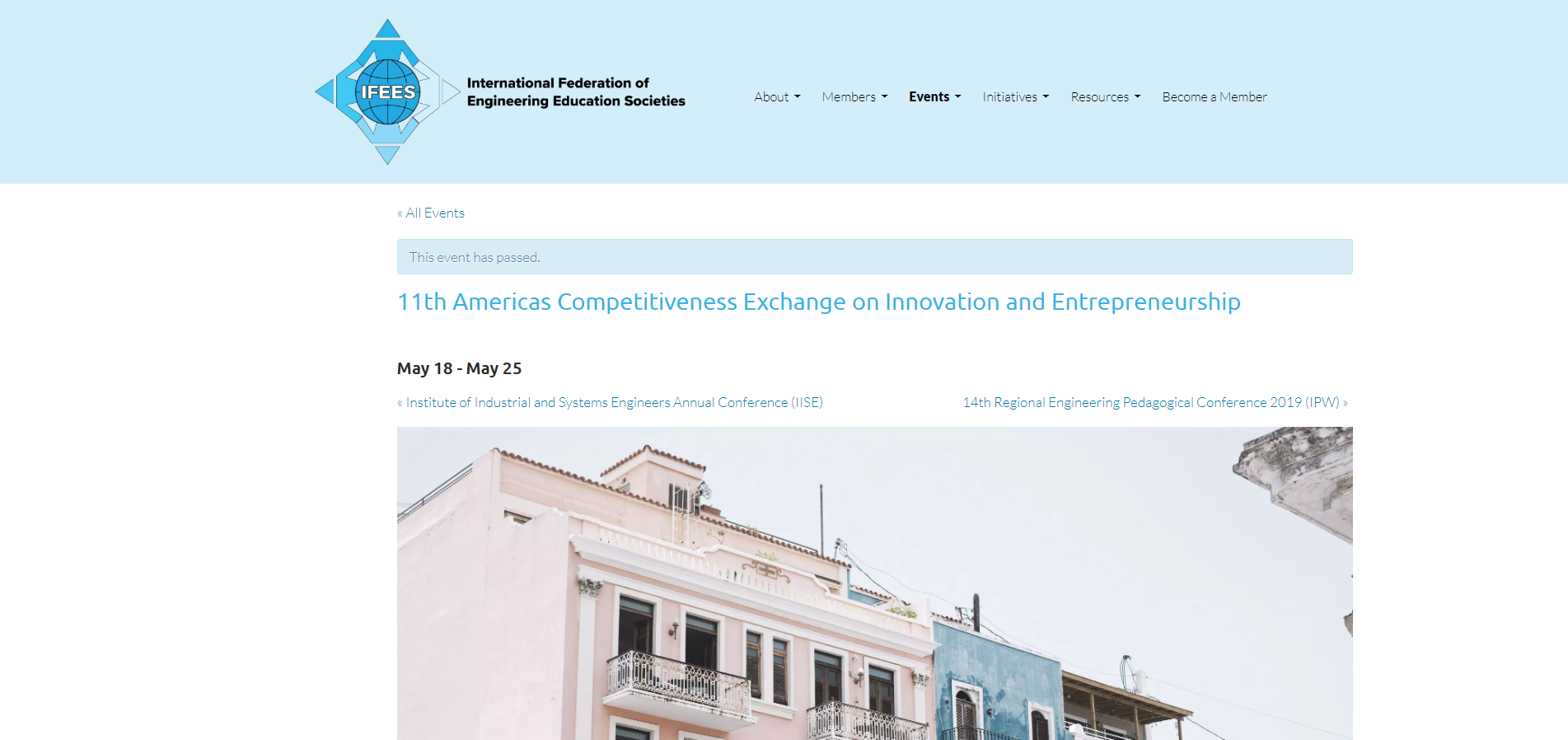 """11th Americas Competitiveness Exchange on Innovation and Entrepreneurship"", International Federation of Engineering Edcation Societies"