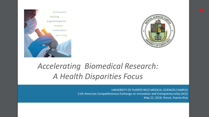 Accelerating Biomedical Research: A Health Disparities Focus