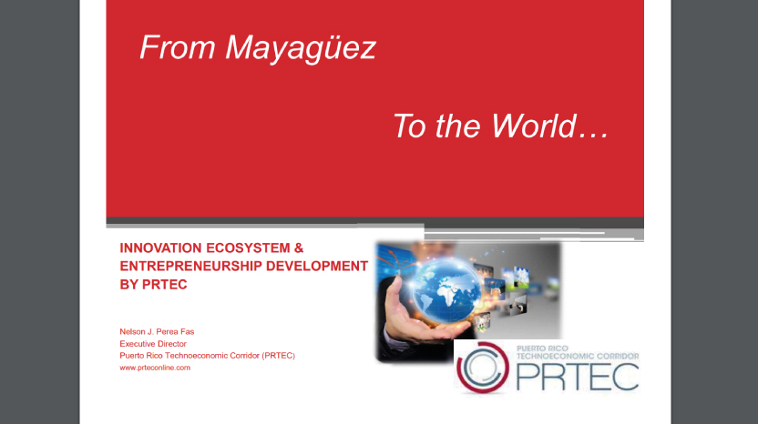 Innovation Ecosystem & Entrepreneurship Development by PRTEC