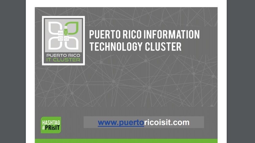 Puerto Rico Information Technology Cluster