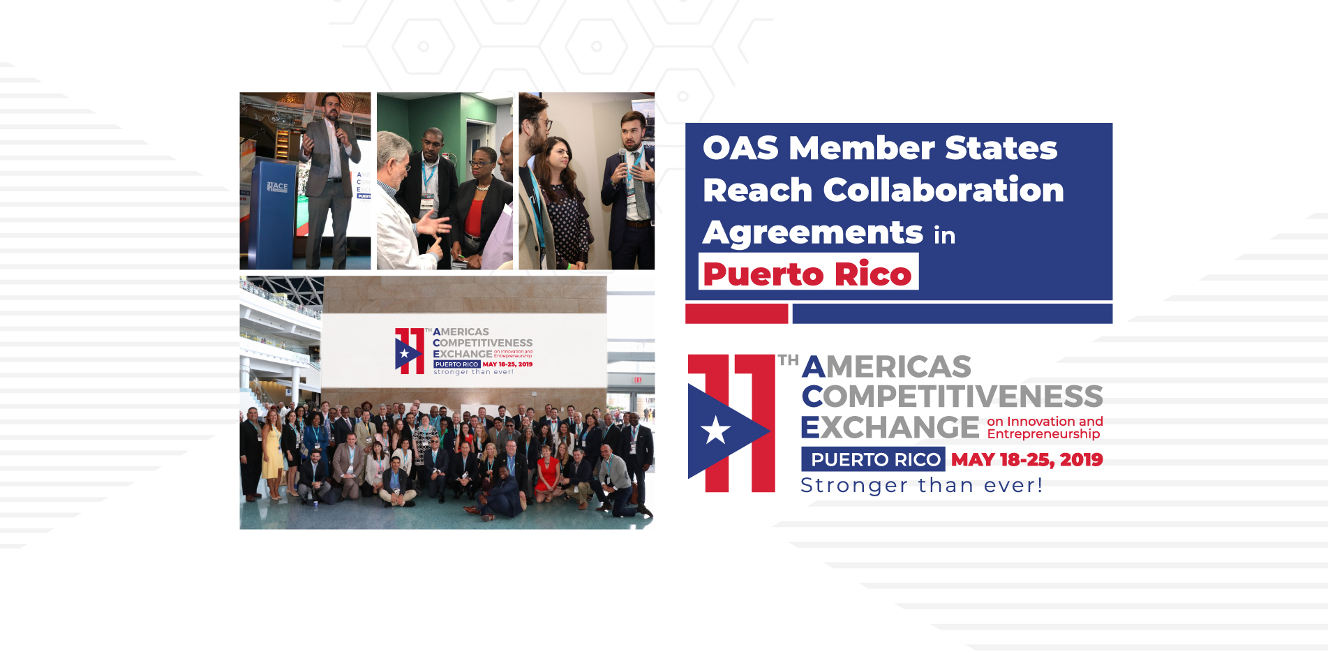 OAS Member States Reach Collaboration Agreements in Puerto Rico