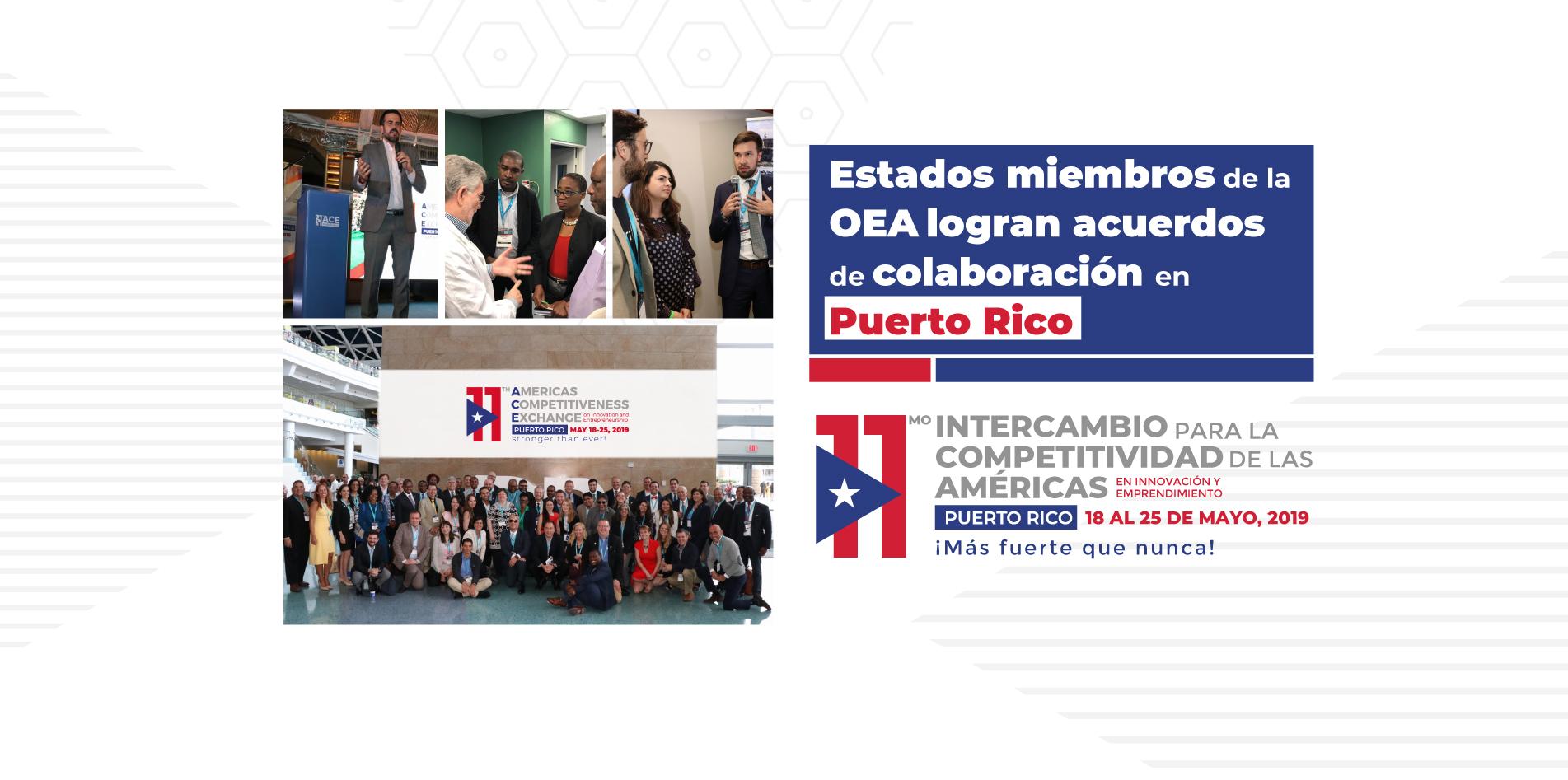 Estados miembros de la OEA logran acuerdos de colaboración en Puerto Rico