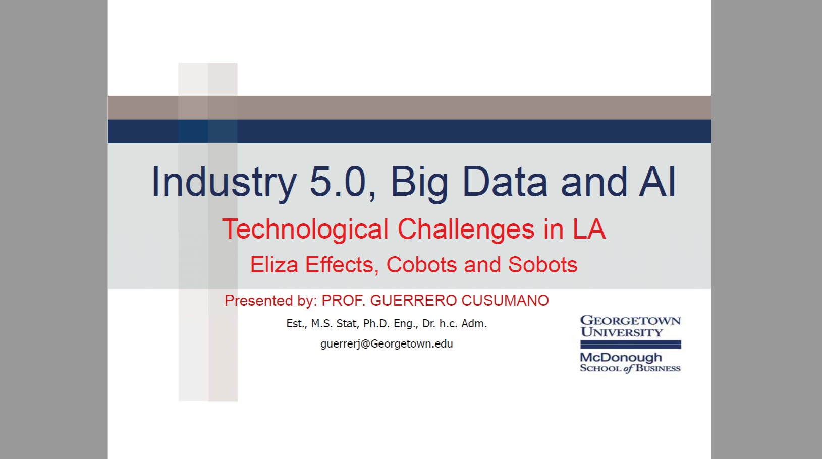 Industry 50 Big Data and AI