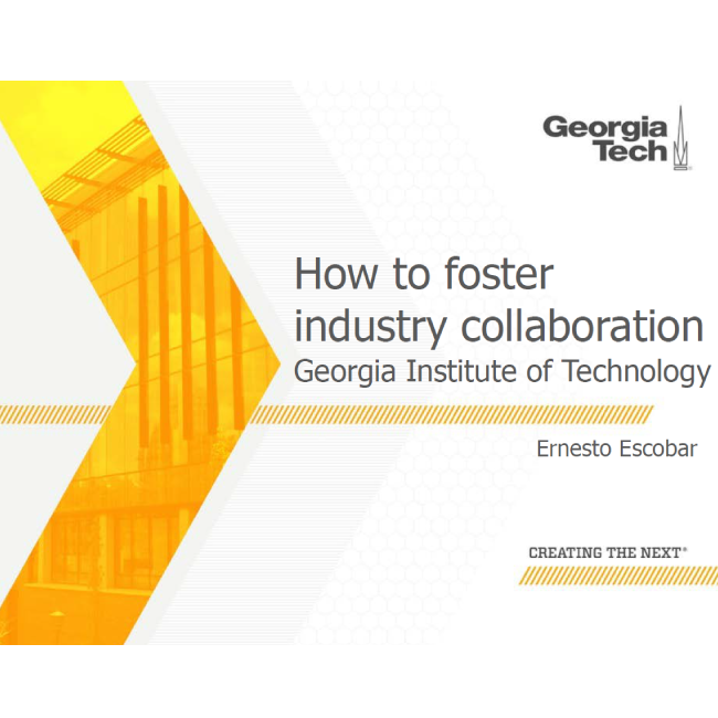 How to foster industry collaboration