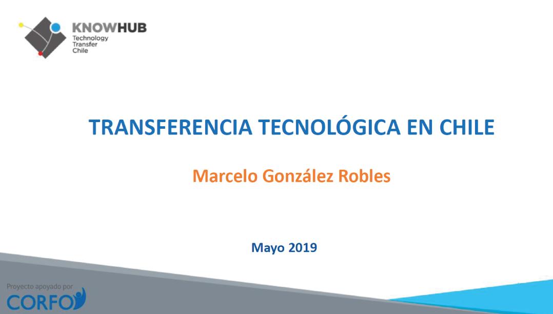 Transferencia Tecnológica en Chile